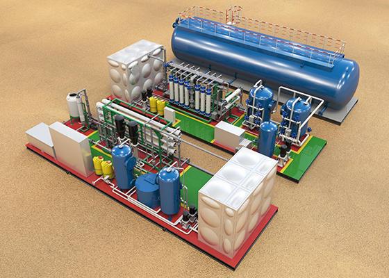 膜法海水淡化系统